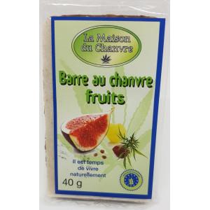 Barre au chanvre fruits