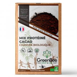 Mix Protéine Cacao chanvre biologique